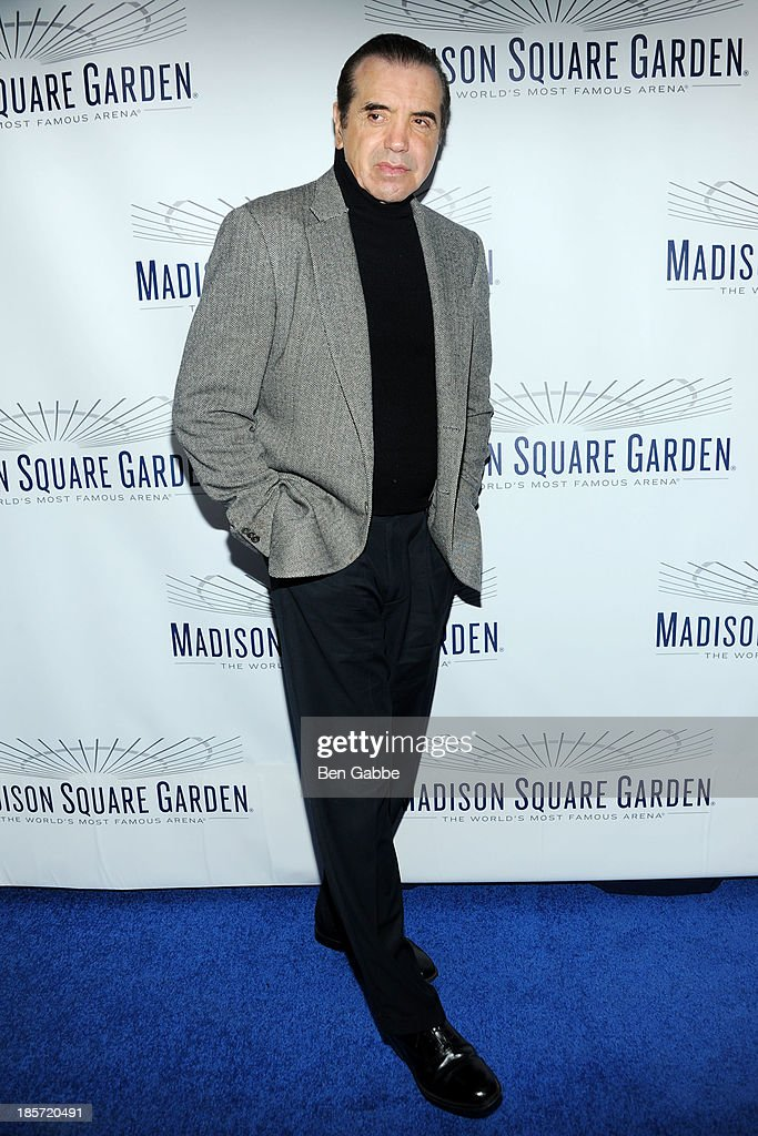 Actor <a gi-track='captionPersonalityLinkClicked' href=/galleries/search?phrase=Chazz+Palminteri&family=editorial&specificpeople=211446 ng-click='$event.stopPropagation()'>Chazz Palminteri</a> attends the Madison Square Garden Transformation Unveiling at Madison Square Garden on October 24, 2013 in New York City.