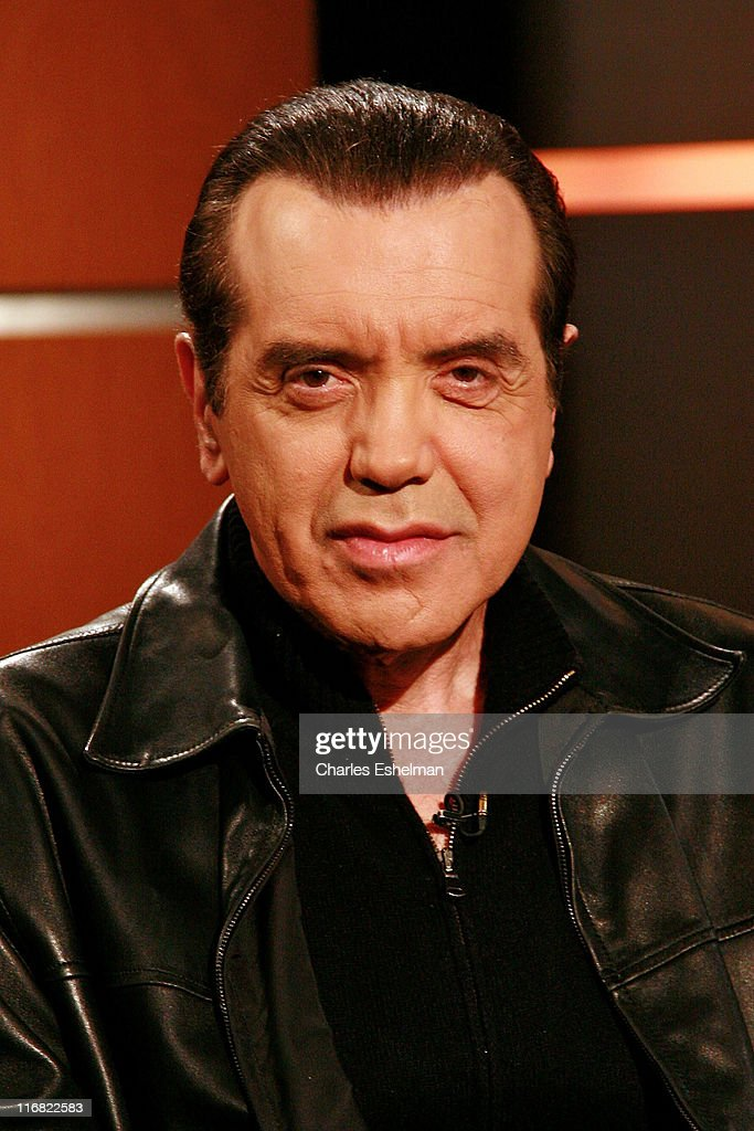Actor Chazz Palminteri visits FOX's 'Good Day New York' at FOX studios on November 7 2008 in New York City