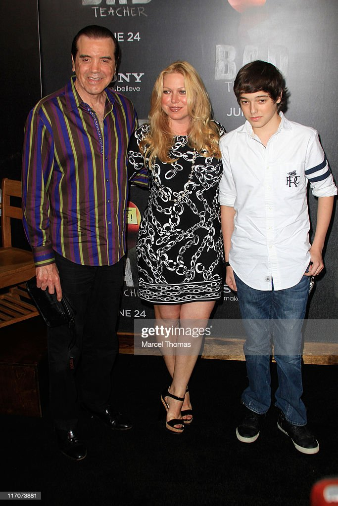 Actor <a gi-track='captionPersonalityLinkClicked' href=/galleries/search?phrase=Chazz+Palminteri&family=editorial&specificpeople=211446 ng-click='$event.stopPropagation()'>Chazz Palminteri</a>, wife <a gi-track='captionPersonalityLinkClicked' href=/galleries/search?phrase=Gianna+Ranaudo&family=editorial&specificpeople=627934 ng-click='$event.stopPropagation()'>Gianna Ranaudo</a> and son Dante attend the world premiere of 'Bad Teacher' at the Ziegfeld Theatre on June 20, 2011 in New York City.