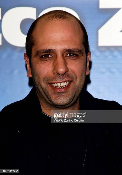 Actor Checco Zalone attends the 'Che Bella Giornata' Red Carpet held at UCI Cinemas on December 29 2010 in Milan Italy