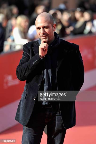 Actor Checco Zalone attends the 'Ciro Interdizione L'Uomo Con Il Megafono' Premiere during the 7th Rome Film Festival at Auditorium Parco Della...