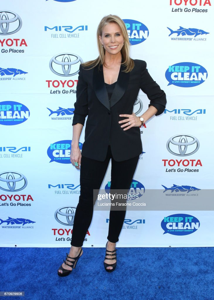 Actor Cheryl Hines attends Keep It Clean Live Comedy Benefit for Waterkeeper Alliance at Avalon Hollywood on April 20, 2017 in Los Angeles, California.