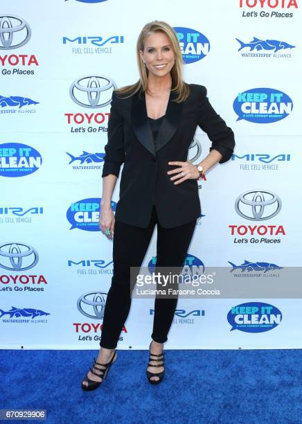 Actor Cheryl Hines attends Keep It Clean Live Comedy Benefit for Waterkeeper Alliance at Avalon Hollywood on April 20 2017 in Los Angeles California