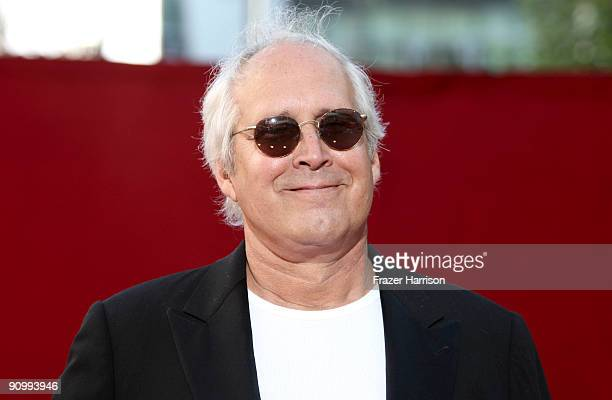 Actor Chevy Chase arrives at the 61st Primetime Emmy Awards held at the Nokia Theatre on September 20 2009 in Los Angeles California