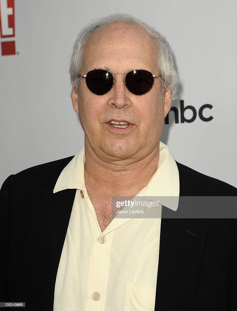 Actor Chevy Chase attends NBC's 2011 TCA summer press tour at The Bazaar at the SLS Hotel on August 1, 2011 in Los Angeles, California.