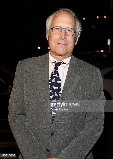 Actor Chevy Chasevarrives at the People's Choice Awards 2010 held at Nokia Theatre LA Live on January 6 2010 in Los Angeles California
