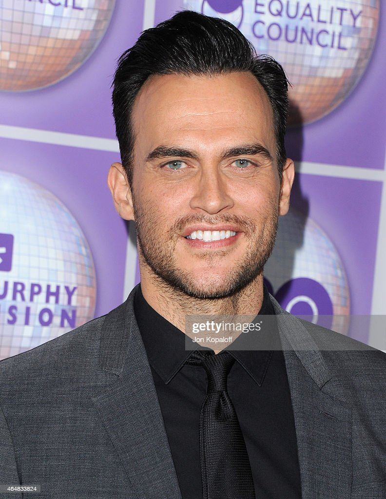 Actor Cheyenne Jackson arrives at the Family Equality Council's Los Angeles Awards Dinner at The Beverly Hilton Hotel on February 28 2015 in Beverly...