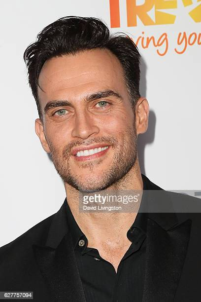 Actor Cheyenne Jackson arrives at the TrevorLIVE Los Angeles 2016 Fundraiser at The Beverly Hilton Hotel on December 4 2016 in Beverly Hills...