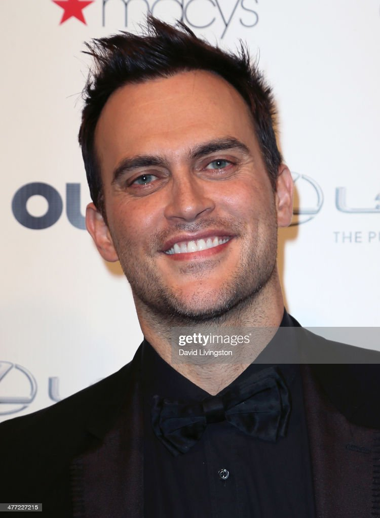 Actor <a gi-track='captionPersonalityLinkClicked' href=/galleries/search?phrase=Cheyenne+Jackson&family=editorial&specificpeople=216481 ng-click='$event.stopPropagation()'>Cheyenne Jackson</a> attends Out Magazine's Rock OUT event to kick off Los Angeles Fashion Week at Siren Studios on March 7, 2014 in Hollywood, California.