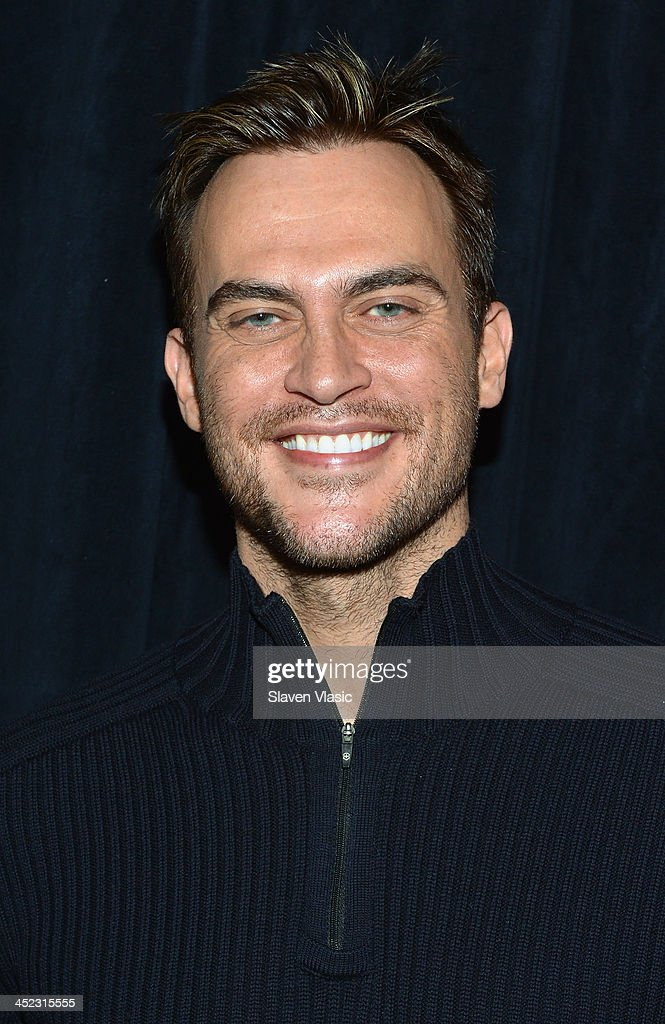 Actor <a gi-track='captionPersonalityLinkClicked' href=/galleries/search?phrase=Cheyenne+Jackson&family=editorial&specificpeople=216481 ng-click='$event.stopPropagation()'>Cheyenne Jackson</a> attends press launch of Broadway Classics at Carnegie Hall at Manhattan Concert Productions Studio on November 27, 2013 in New York City.
