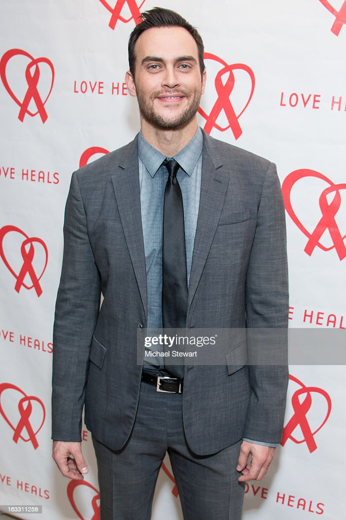 Actor <a gi-track='captionPersonalityLinkClicked' href=/galleries/search?phrase=Cheyenne+Jackson&family=editorial&specificpeople=216481 ng-click='$event.stopPropagation()'>Cheyenne Jackson</a> attends the 2013 Gala By Love Heals at The Four Seasons Restaurant on March 7, 2013 in New York City.