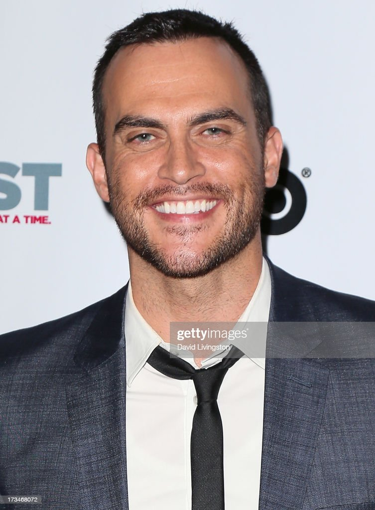 Actor <a gi-track='captionPersonalityLinkClicked' href=/galleries/search?phrase=Cheyenne+Jackson&family=editorial&specificpeople=216481 ng-click='$event.stopPropagation()'>Cheyenne Jackson</a> attends the 2013 Outfest Film Festival's amfAR panel at the DGA Theater on July 14, 2013 in Los Angeles, California.
