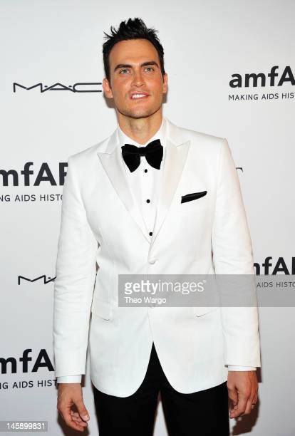 Actor Cheyenne Jackson attends the 3rd annual amfAR Inspiration Gala New York at The New York Public Library Stephen A Schwarzman Building on June 7...