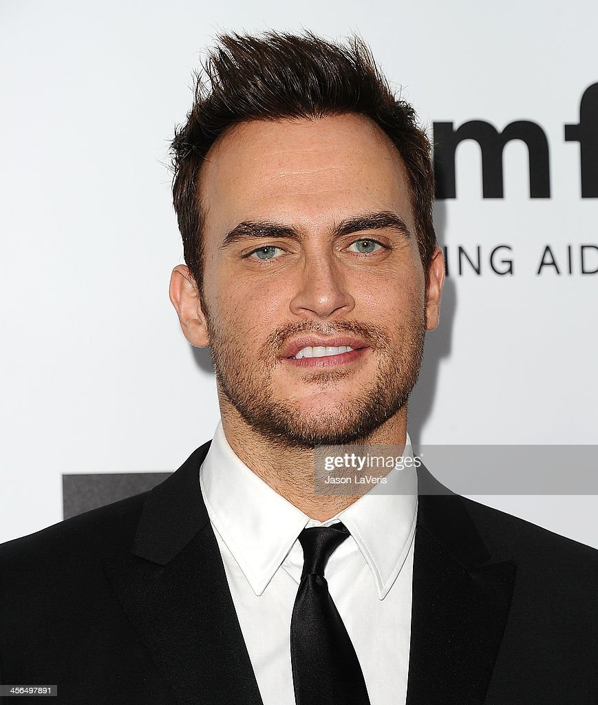 Actor Cheyenne Jackson attends the amfAR Inspiration Gala at Milk Studios on December 12, 2013 in Hollywood, California.