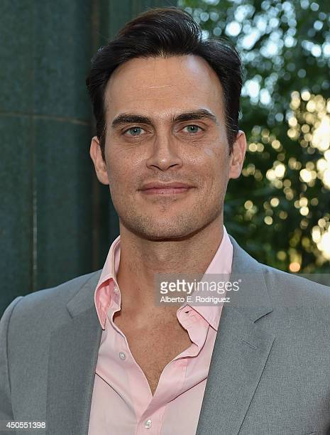 Actor Cheyenne Jackson attends the Los Angeles Film Festival's premiere of Sony Pictures Classics' 'Love Is Strange' at LACMA on June 12 2014 in Los...
