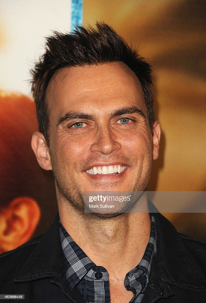 Actor Cheyenne Jackson attends the Los Angeles Premiere of HBO's new series 'Looking' at Paramount Theater on the Paramount Studios lot on January 15...
