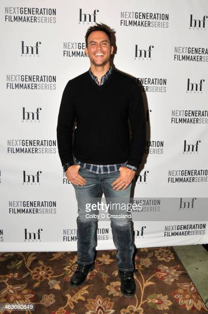 Actor Cheyenne Jackson attends the 'Love Is Strange' Premiere Party on January 18 2014 in Park City Utah