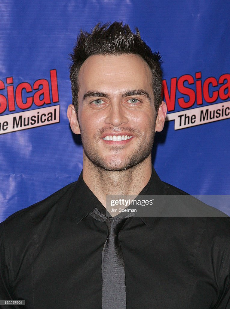 Actor Cheyenne Jackson attends the 'NEWSical The Musical' Opening Night at The Kirk Theater at Theatre Row on September 17 2012 in New York City