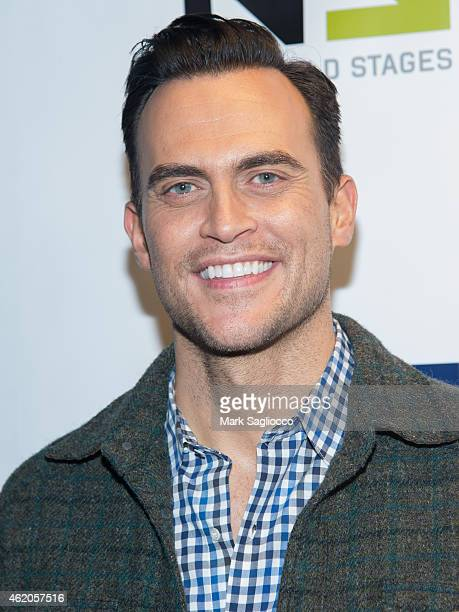 Actor Cheyenne Jackson attends 'The Not So Late Show' at the New World Stages on January 23 2015 in New York City