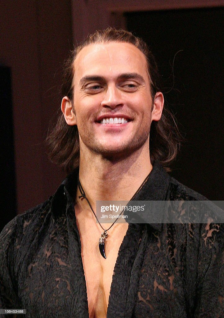 Actor <a gi-track='captionPersonalityLinkClicked' href=/galleries/search?phrase=Cheyenne+Jackson&family=editorial&specificpeople=216481 ng-click='$event.stopPropagation()'>Cheyenne Jackson</a> attends 'The Performers' Broadway Opening Night at the Longacre Theatre on November 14, 2012 in New York City.
