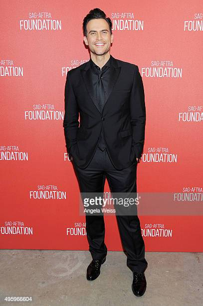 Actor Cheyenne Jackson attends the Screen Actors Guild Foundation 30th Anniversary Celebration at Wallis Annenberg Center for the Performing Arts on...
