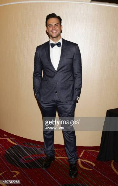 Actor Cheyenne Jackson attends the Trevor Project's 2014 'TrevorLIVE NY' Event at the Marriott Marquis Hotel on June 16 2014 in New York City