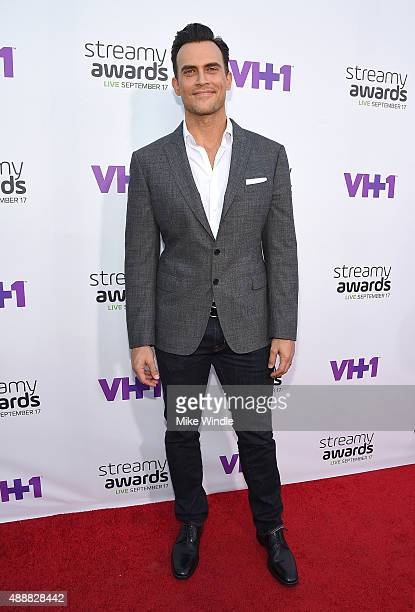 Actor Cheyenne Jackson attends VH1's 5th Annual Streamy Awards at the Hollywood Palladium on Thursday September 17 2015 in Los Angeles California