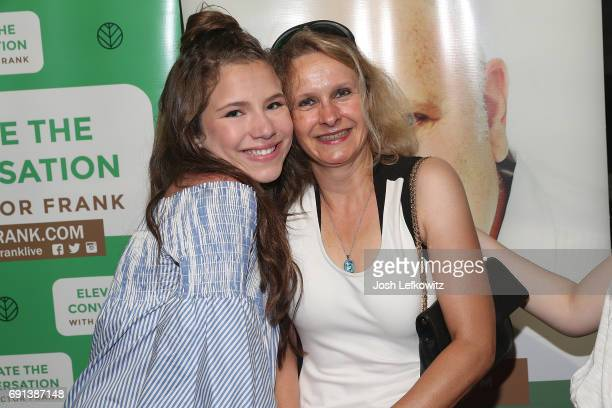 Actor Chiara D'Ambrosio and Florence Boizon attend the DoctorFrankcom Memorial Day Yacht Cruise on May 29 2017 in Marina del Rey California