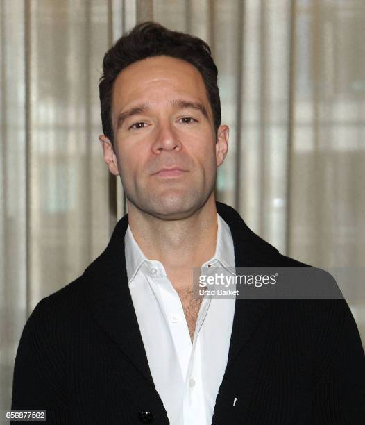 Actor Chirs Diamantopoulos attends the 'Waitress' New Cast Meet Greet at St Cloud at the Knickerbocker Hotel on March 23 2017 in New York City