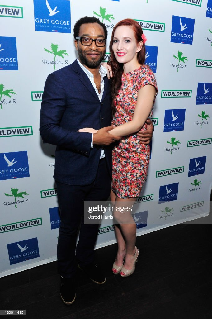 Actor <a gi-track='captionPersonalityLinkClicked' href=/galleries/search?phrase=Chiwetel+Ejiofor&family=editorial&specificpeople=213998 ng-click='$event.stopPropagation()'>Chiwetel Ejiofor</a> (L) and guest attend the Bungalow 8 and Worldview party during the 2013 Toronto International Film Festival on September 7, 2013 in Toronto, Canada.