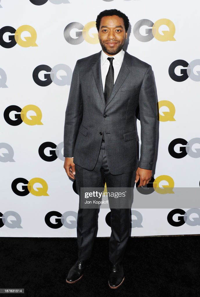 Actor Chiwetel Ejiofor arrives at GQ Celebrates The 2013 'Men Of The Year' at The Wilshire Ebell Theatre on November 12, 2013 in Los Angeles, California.