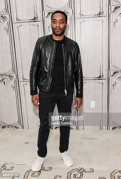 Actor Chiwetel Ejiofor attends AOL Build to discuss his new film 'Z For Zachariah' at AOL Studios on August 19 2015 in New York City