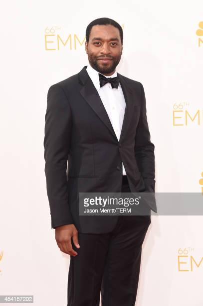 Actor Chiwetel Ejiofor attends the 66th Annual Primetime Emmy Awards held at Nokia Theatre LA Live on August 25 2014 in Los Angeles California