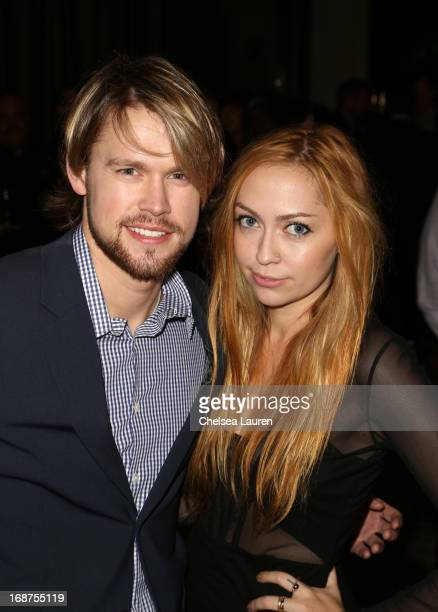 Actor Chord Overstreet and songwriter Brandi Cyrus attend the 2013 BMI Pop Awards at the Beverly Wilshire Four Seasons Hotel on May 14 2013 in...