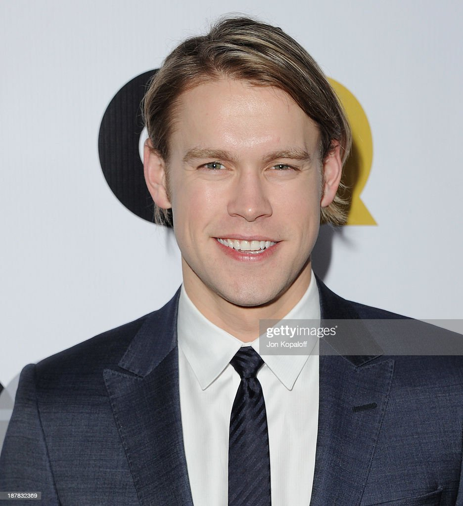 Actor Chord Overstreet arrives at GQ Celebrates The 2013 'Men Of The Year' at The Wilshire Ebell Theatre on November 12, 2013 in Los Angeles, California.