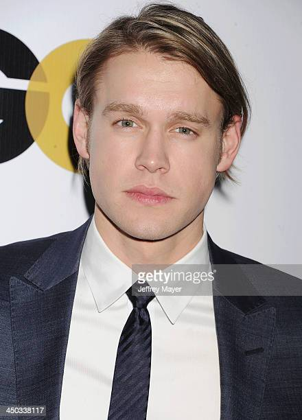 Actor Chord Overstreet arrives at the 2013 GQ Men Of The Year Party at The Ebell of Los Angeles on November 12 2013 in Los Angeles California