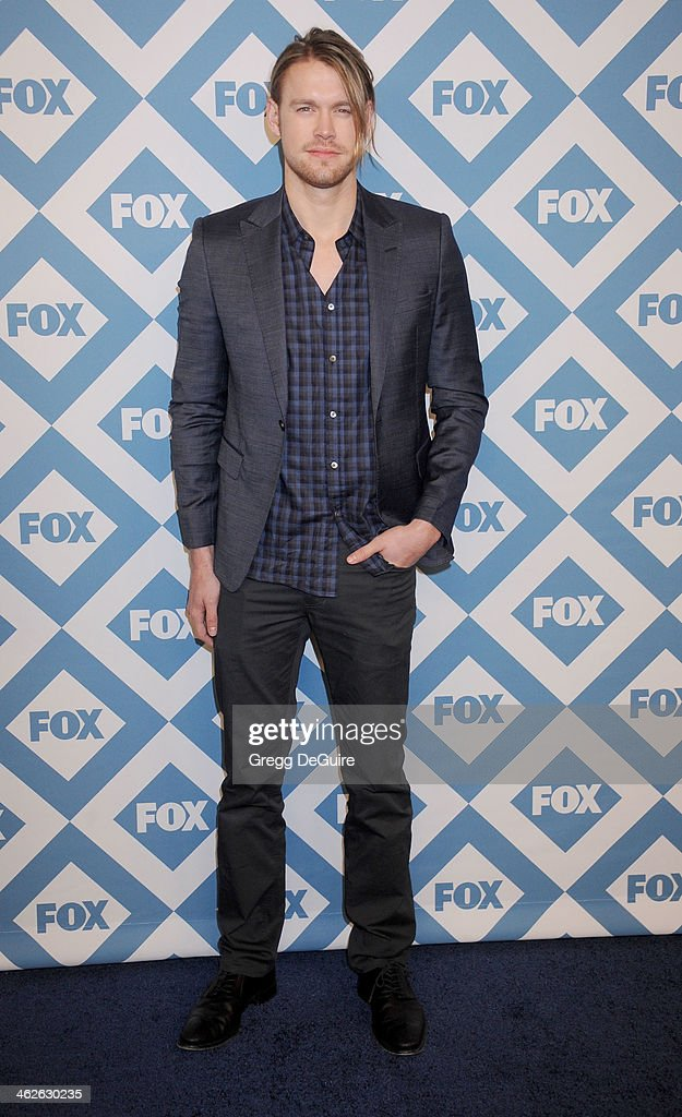 Actor Chord Overstreet arrives at the 2014 TCA winter press tour FOX all-star party at The Langham Huntington Hotel and Spa on January 13, 2014 in Pasadena, California.