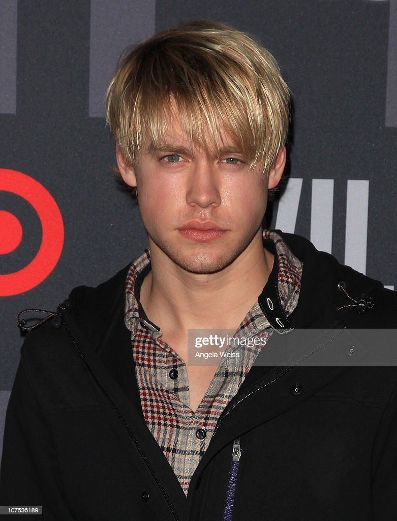 Actor <a gi-track='captionPersonalityLinkClicked' href=/galleries/search?phrase=Chord+Overstreet&family=editorial&specificpeople=7126148 ng-click='$event.stopPropagation()'>Chord Overstreet</a> arrives at the launch of Target's & William Rast's Limited Edition Collection shopping event at Factory Place on December 11, 2010 in Los Angeles, California.