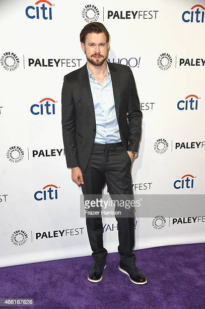 Actor Chord Overstreet arrives at The Paley Center For Media's 32nd Annual PALEYFEST LA 'Glee' at Dolby Theatre on March 13 2015 in Hollywood...
