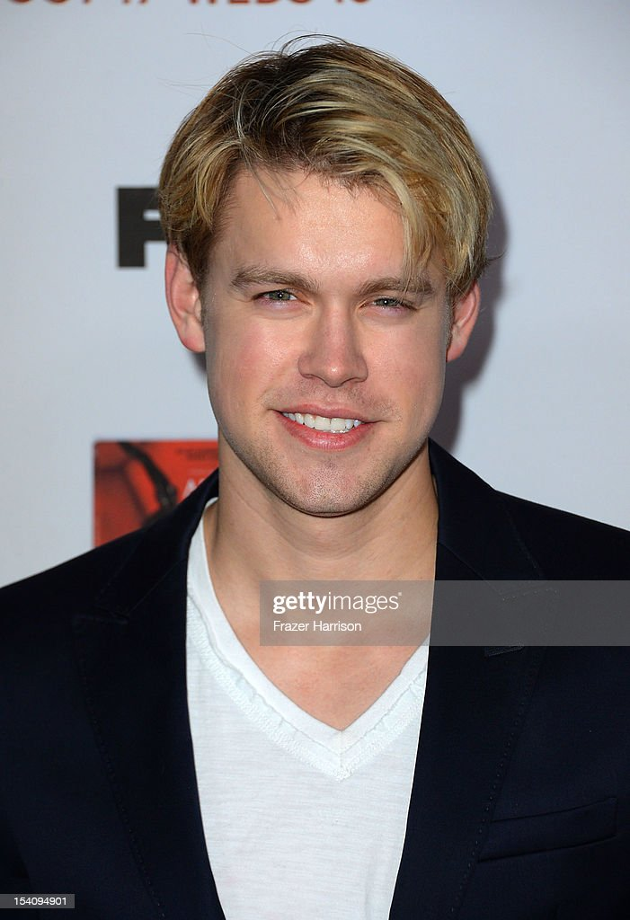 Actor <a gi-track='captionPersonalityLinkClicked' href=/galleries/search?phrase=Chord+Overstreet&family=editorial&specificpeople=7126148 ng-click='$event.stopPropagation()'>Chord Overstreet</a> arrives at the Premiere Screening of FX's 'American Horror Story: Asylum' at the Paramount Theatre on October 13, 2012 in Hollywood, California.