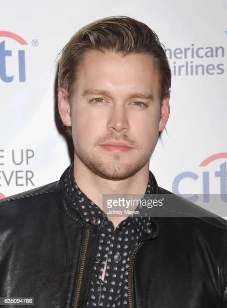 Actor Chord Overstreet arrives at the Universal Music Group's 2017 GRAMMY After Party at The Theatre at Ace Hotel on February 12 2017 in Los Angeles...