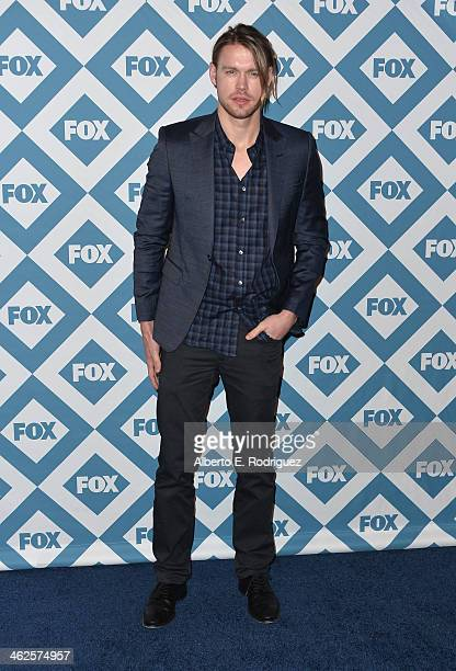 Actor Chord Overstreet arrives to the 2014 Fox AllStar Party at the Langham Hotel on January 13 2014 in Pasadena California