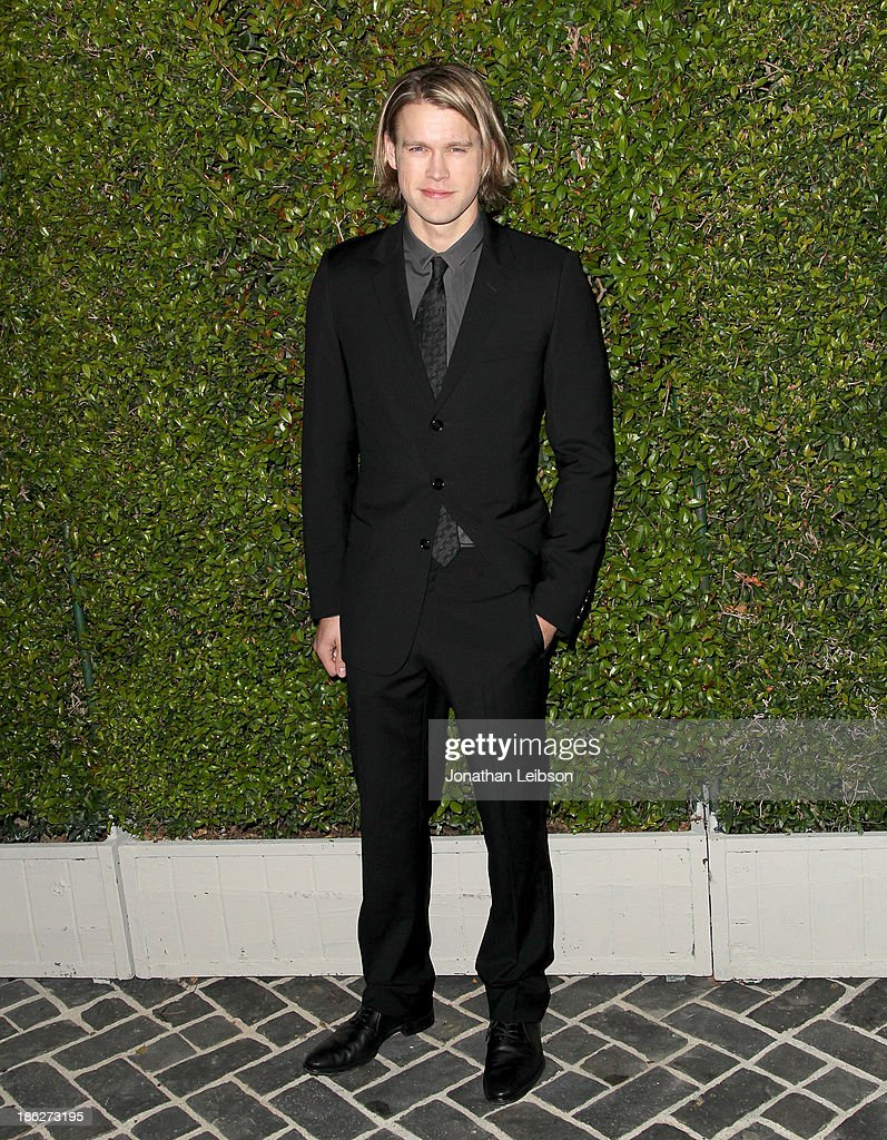 Actor <a gi-track='captionPersonalityLinkClicked' href=/galleries/search?phrase=Chord+Overstreet&family=editorial&specificpeople=7126148 ng-click='$event.stopPropagation()'>Chord Overstreet</a> attends Chloe Los Angeles Fashion Show & Dinner hosted by Clare Waight Keller, January Jones and Lisa Love on October 29, 2013 in Los Angeles, California.