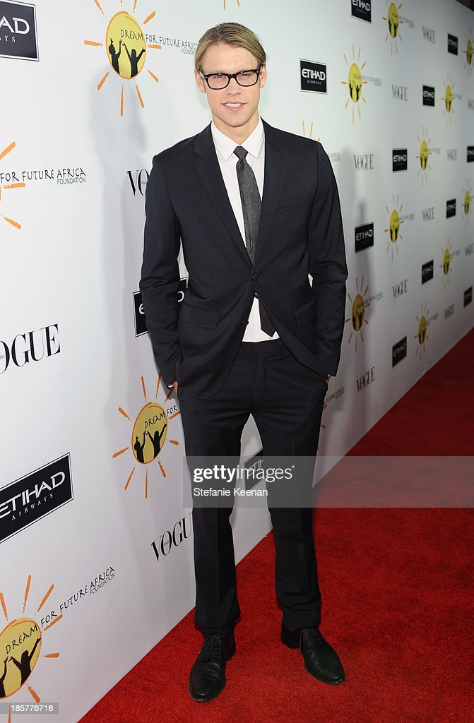Actor <a gi-track='captionPersonalityLinkClicked' href=/galleries/search?phrase=Chord+Overstreet&family=editorial&specificpeople=7126148 ng-click='$event.stopPropagation()'>Chord Overstreet</a> attends Dream for Future Africa Foundation Inaugural Gala honoring Franca Sozzani of VOGUE Italia at Spago on October 24, 2013 in Beverly Hills, California.