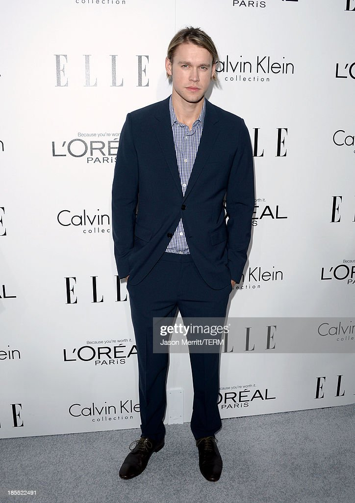 Actor Chord Overstreet attends ELLE's 20th Annual Women In Hollywood Celebration at Four Seasons Hotel Los Angeles at Beverly Hills on October 21, 2013 in Beverly Hills, California.