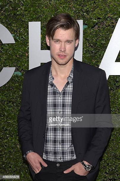 Actor Chord Overstreet attends Michael Kors Launch of Claiborne Swanson Frank's 'Young Hollywood' on October 2 2014 in Beverly Hills California