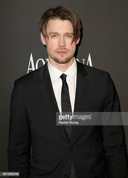 Actor Chord Overstreet attends the 2015 InStyle And Warner Bros 72nd Annual Golden Globe Awards PostParty at The Beverly Hilton Hotel on January 11...