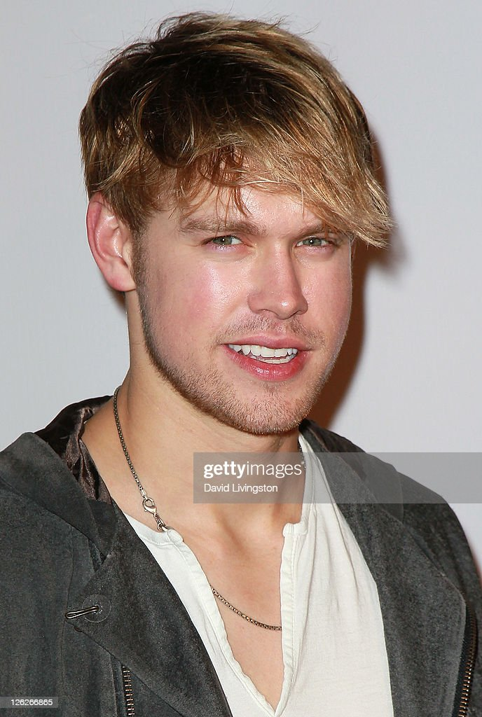 Actor Chord Overstreet attends the 9th annual Teen Vogue's Young Hollywood party at Paramount Studios on September 23, 2011 in Los Angeles, California.