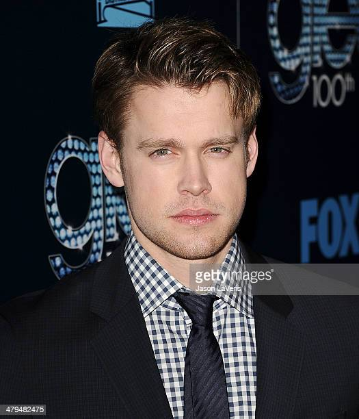 Actor Chord Overstreet attends the 'Glee' 100th episode celebration at Chateau Marmont on March 18 2014 in Los Angeles California