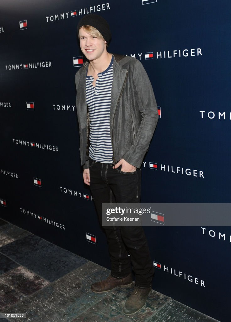 Actor <a gi-track='captionPersonalityLinkClicked' href=/galleries/search?phrase=Chord+Overstreet&family=editorial&specificpeople=7126148 ng-click='$event.stopPropagation()'>Chord Overstreet</a> attends Tommy Hilfiger New West Coast Flagship Opening After Party at a Private Club on February 13, 2013 in West Hollywood, California.